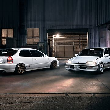 Double Civics by tjbphoto