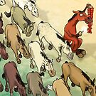 Chinese Proverb: The Horse that Harms the Herd by Jason Pym