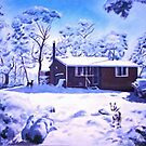 Snow Shack by Angelamc