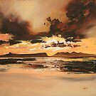 Arisaig Dusk Light by scottnaismith