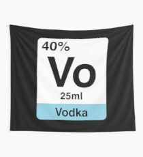 Vodka - The missing Element Wall Tapestry