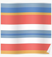 Color Strips Poster