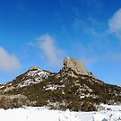 Snow at The Cathedral, Mount Buffalo,Victoria, Australia. by kaysharp