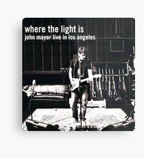 Lámina metálica John Mayer