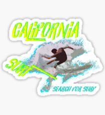 Surf California Gift Idea Sticker