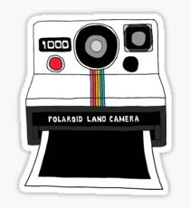 Polaroid Land Camera Sticker