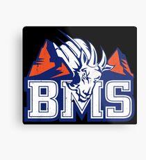BMS Blue Mountain State Metal Print