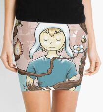 Blooming Mini Skirt