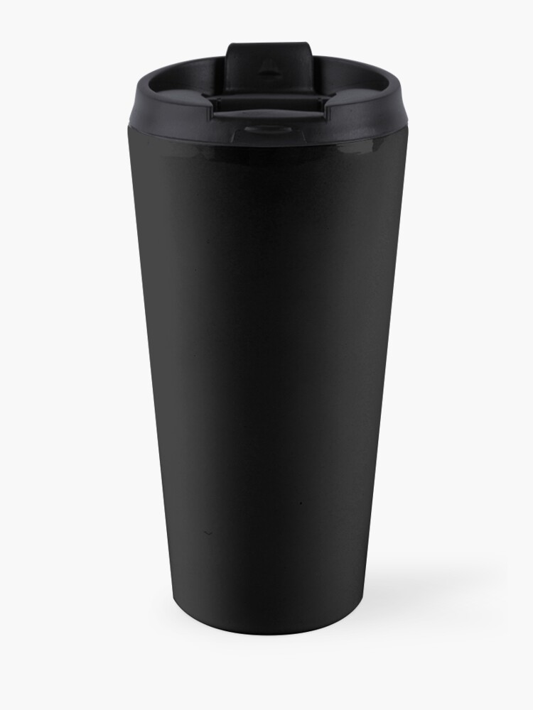 Alternate view of rick astley for president Travel Mug