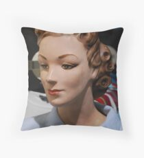 Yes, I'm plastered! Throw Pillow