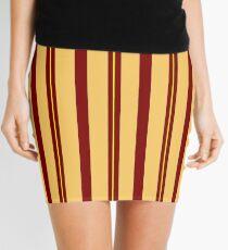 Fall colors pattern Mini Skirt