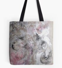 IDLENESS, Idleness rusts the mind, Abstract original painting Tote Bag