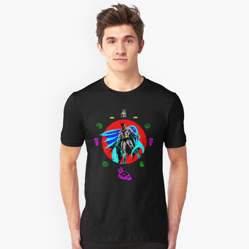 Gaming [ZX Spectrum] - Caped Crusader Unisex T-Shirt Front