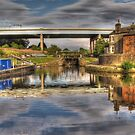 Leeds Liverpool Canal in Wigan by RamblingTog