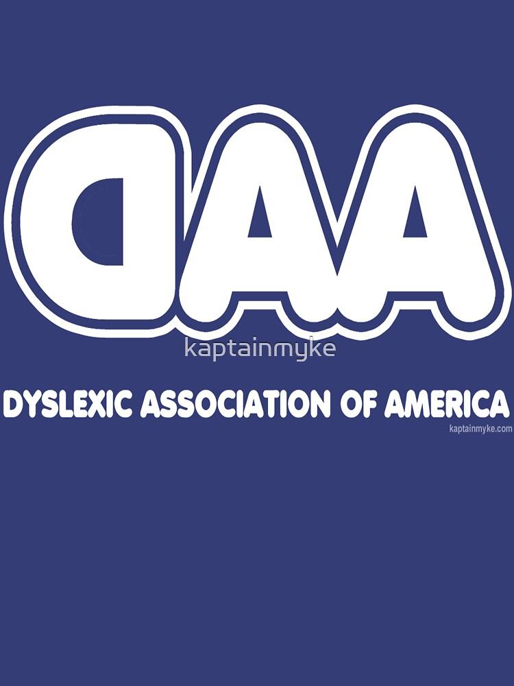 Dyslexia Association of America by kaptainmyke