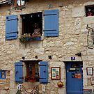 Town House, Bergerac, Dordogne, France, Photograph by Vic Potter by Vic Potter