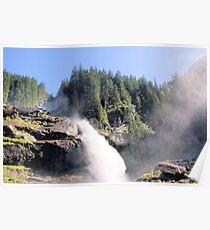 Krimml waterfall Austria Poster