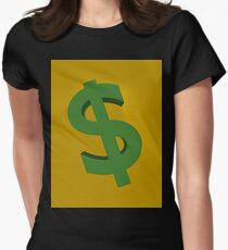 U.S. dollars Womens Fitted T-Shirt