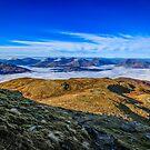 Arrochar Clouds from Ben Lomond by RamblingTog