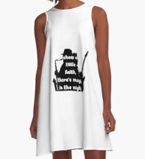 Words from the wise 4 A-Line Dress