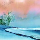 At Beach by Anil Nene