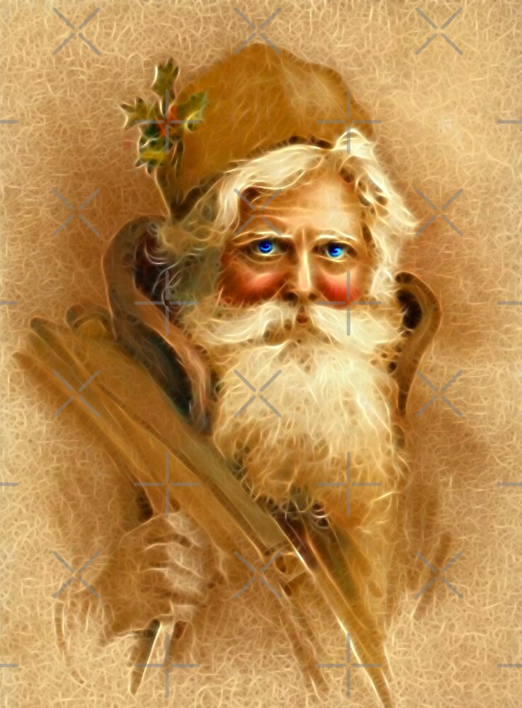 Old World Santa by Beverlytazangel