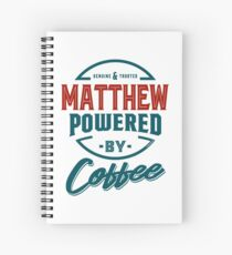 Matthew Tees Spiral Notebook
