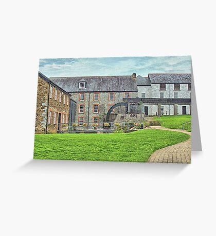 Buckfast Abbey Mill Greeting Card