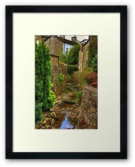 Village Stream - Dent. by Trevor Kersley