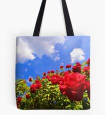 Roses and  Sky. Tote Bag