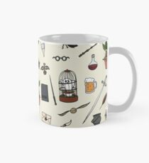 Owl and wand Classic Mug