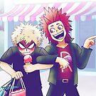 My Hero Academia - Kirishima and Bakugo  by GrittySugar