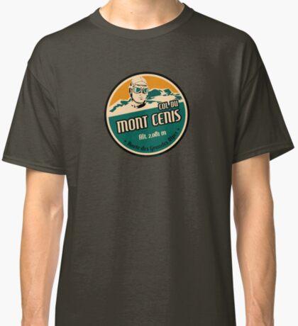 Route des Grandes Alpes France T-Shirt Sticker - Col du Mont Cenis 1 Classic T-Shirt