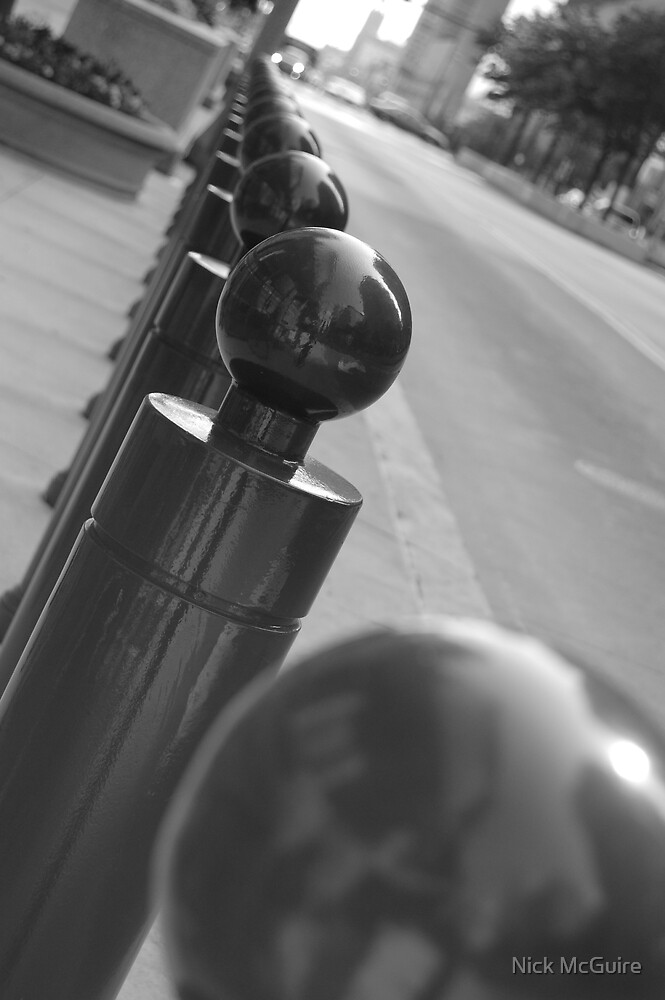 Gleaming Poles in Cleveland by Nick McGuire