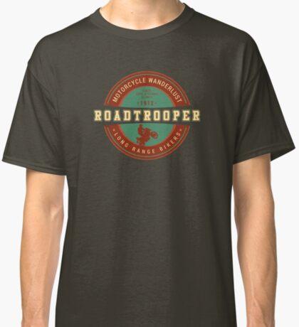 Motorcycle Adventurer Carl Stearns Clancy T-Shirt - Design 1 Classic T-Shirt