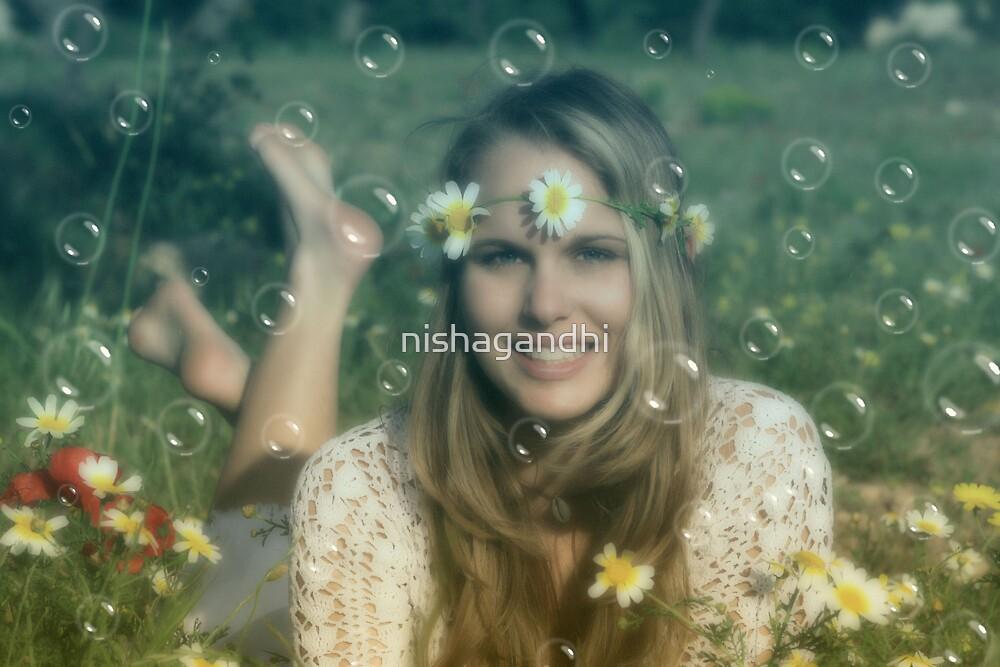 Happy girl by nishagandhi