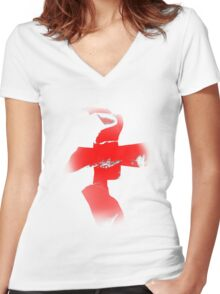 St. George Women's Fitted V-Neck T-Shirt