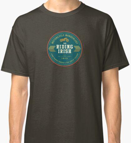 Motorcycle Wanderlust - The Riding Irish since Carl Stearns Clancy T-Shirt Sticker Classic T-Shirt