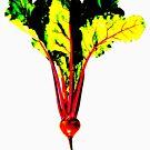 Red Beet Tee by Marlene Hielema