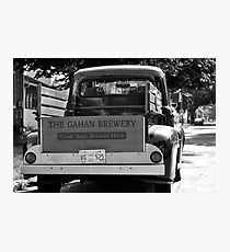 THE GAHAN BREWERY '52 FORD Photographic Print