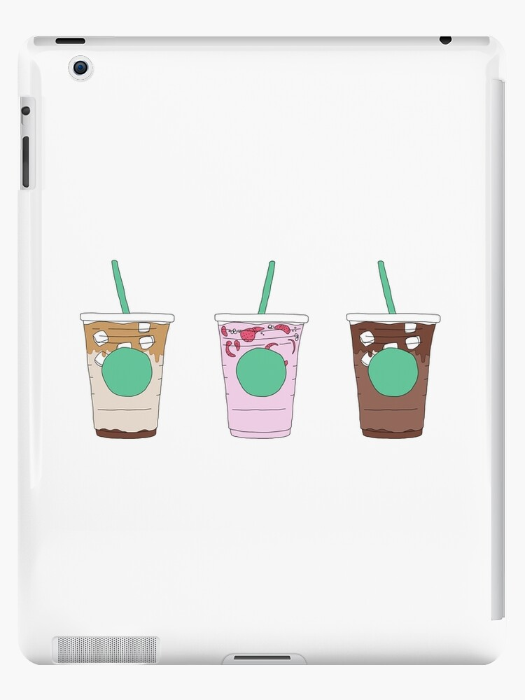 Starbucks Iced Coffee Drinks Menu Pack Ipad Case Skin By Finniel