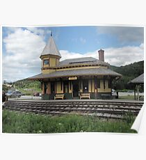 Crawford Notch Depot Poster
