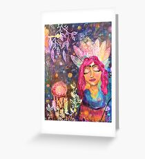 Beauty Is Her Name Greeting Card