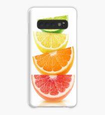 Citrus slices pyramid Case/Skin for Samsung Galaxy