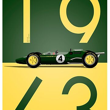 Lotus 25 Jim Clark by ICRDesigns
