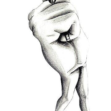 Empowered hand by ArteLauraS