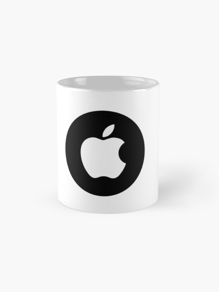 Vista alternativa de Taza Fanáticos de Apple?