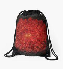 Red Bell Drawstring Bag