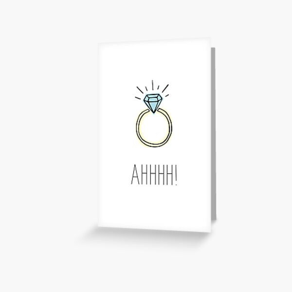 You're Blinding Me Greeting Card
