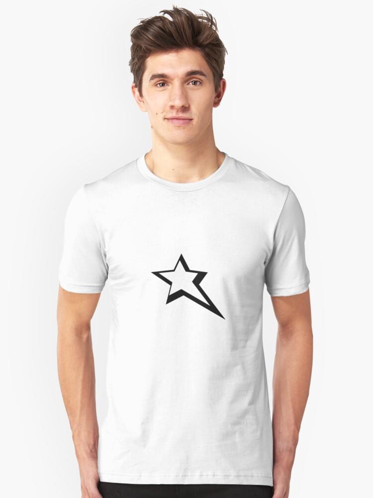 Drag Star. Unisex T-Shirt Front